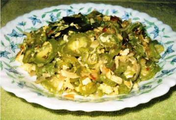 ডিম চিচিঙ্গা ভাজি